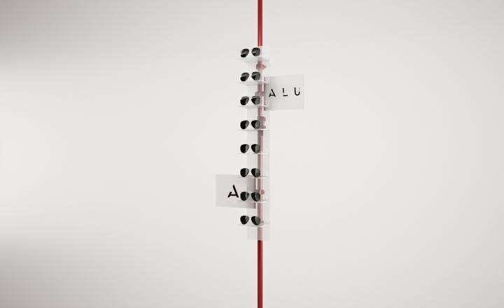 ALU for Eyewear - Autopole - KIT 2 - ALU