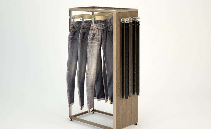 Cage Freestanding - F - ALU