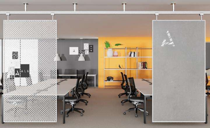 ALU's Office Partitions