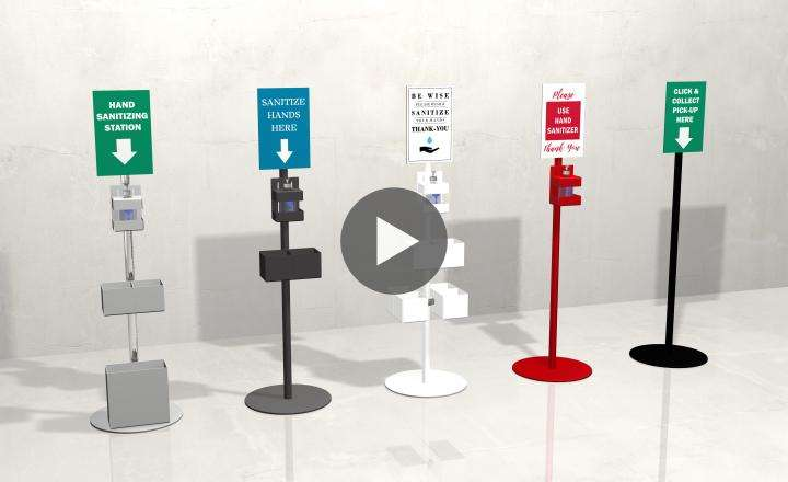 Sanitizing Stations and Social Distancing Solutions_cover
