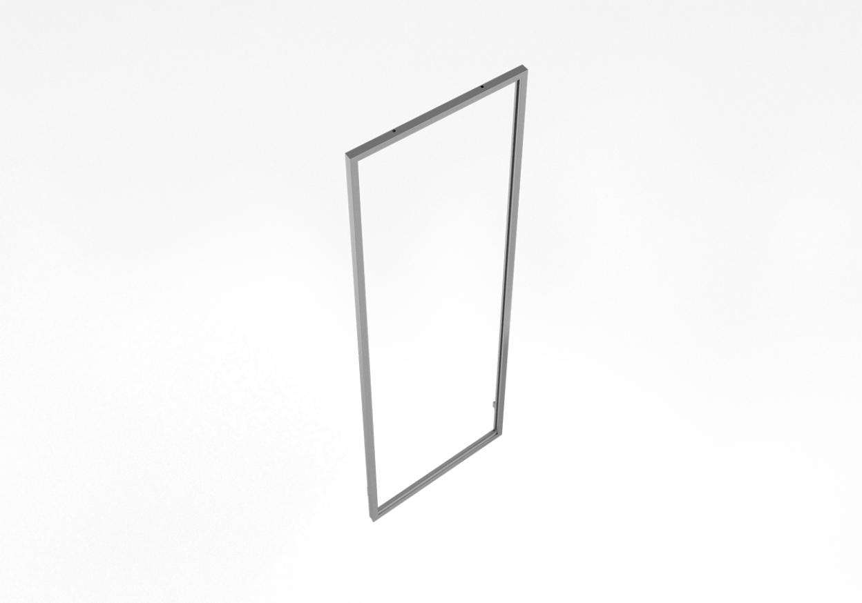"Cage Magnetic Chi Frame 16""X51"" - ALU"