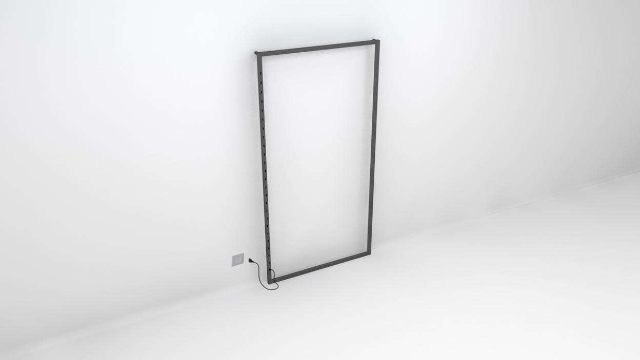 "TQ Powered Wall Frame 48""X94"" - ALU"