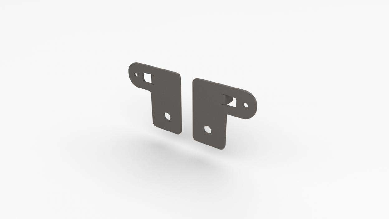 TQ Panel Holder For Corners (Set Of 2) - ALU