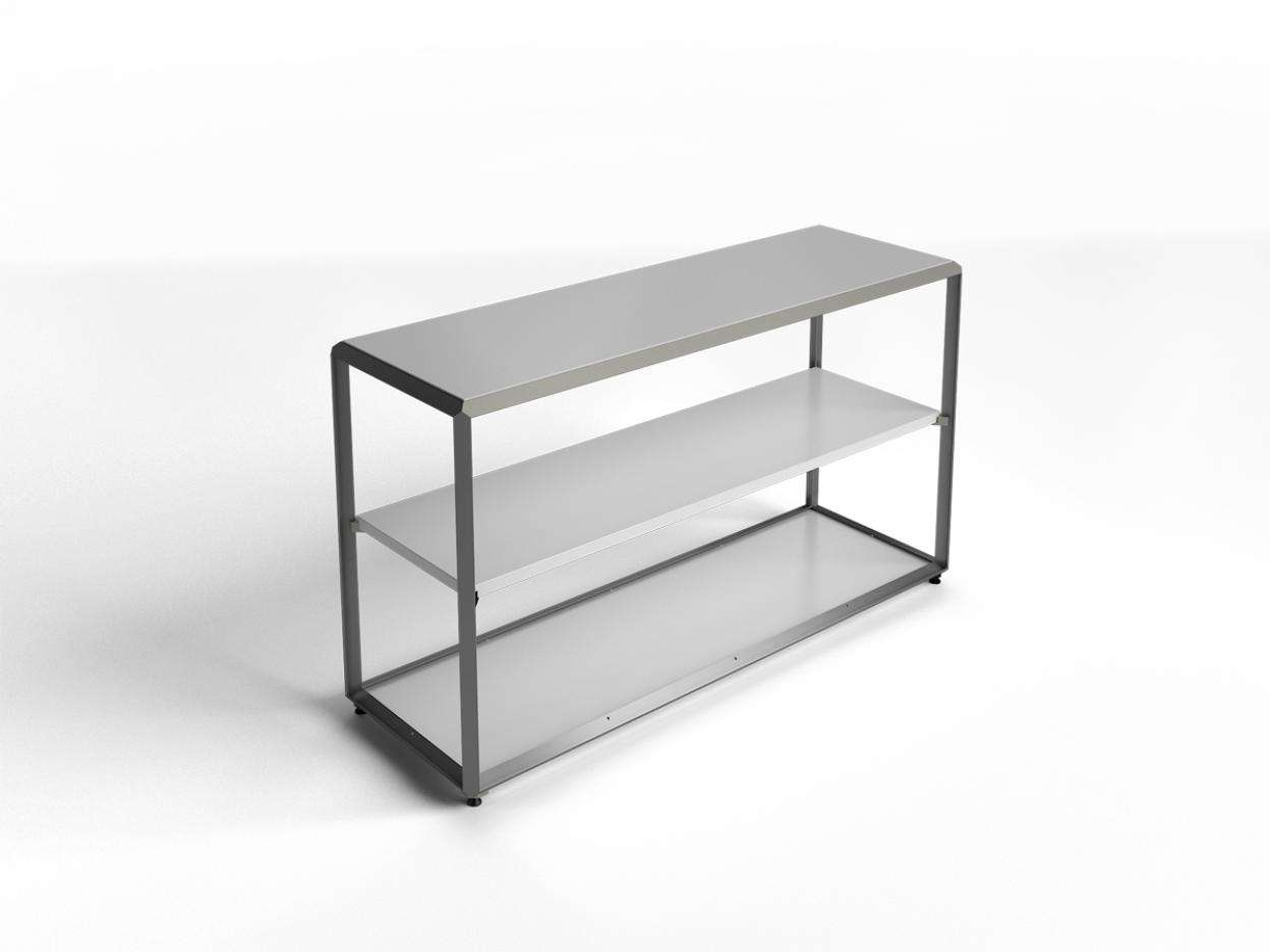"Cage Top Shelf 51""x16"" - ALU"