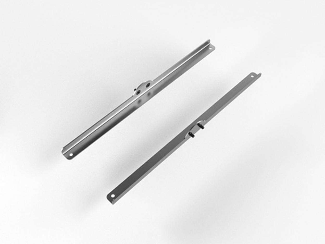 MOBILE SHELF HOLDER SET OF 2