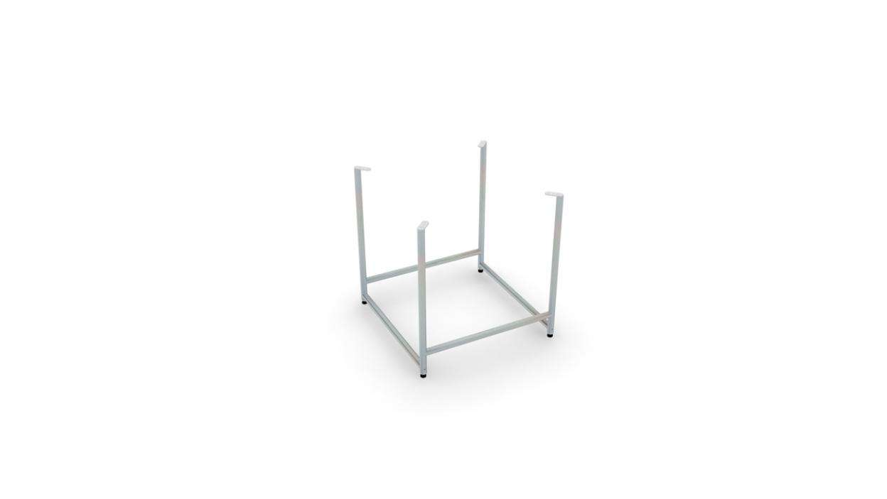 "Plot Four-Sided Display Console 24''x28"" - ALU"
