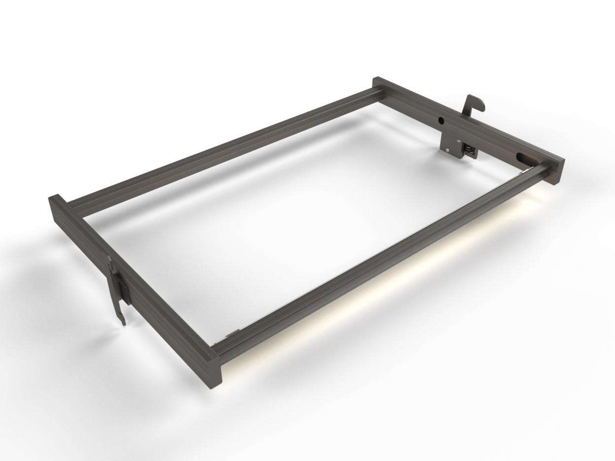 Slash Illuminated Shelf Holder 24""