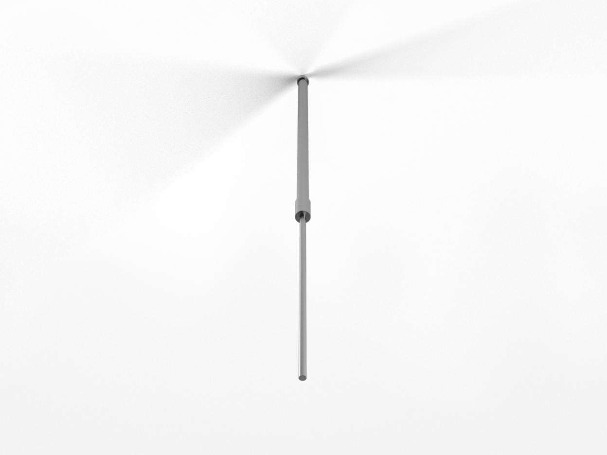"Acrobat Slim Adjustable Rod 24"" - ALU"