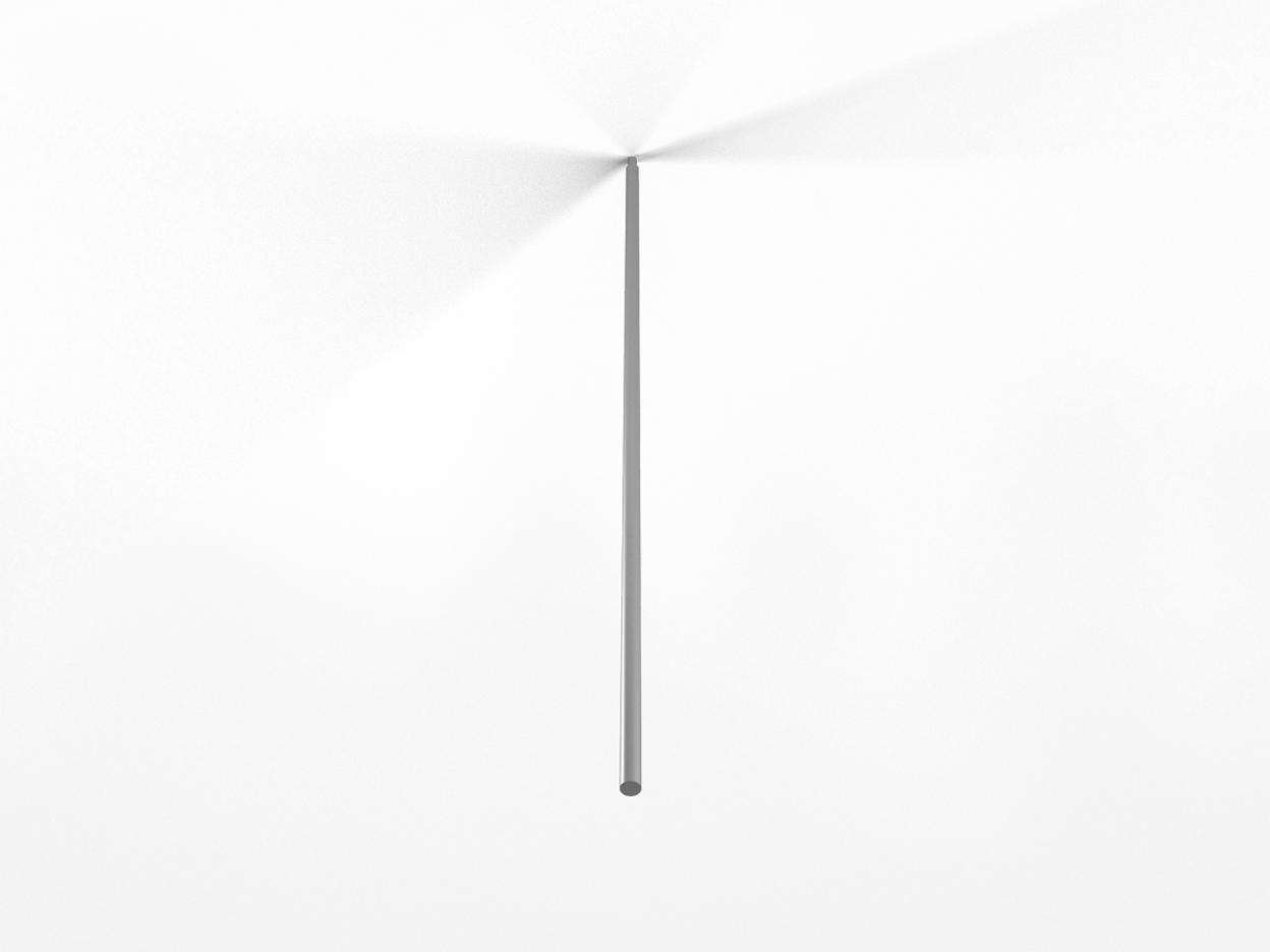"Acrobat Slim Rod Extension 24"" - ALU"
