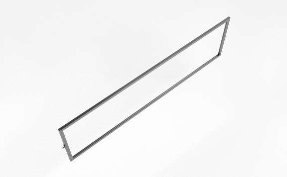 "Acrobat Slim Signholder / Shelf 44""x12"""
