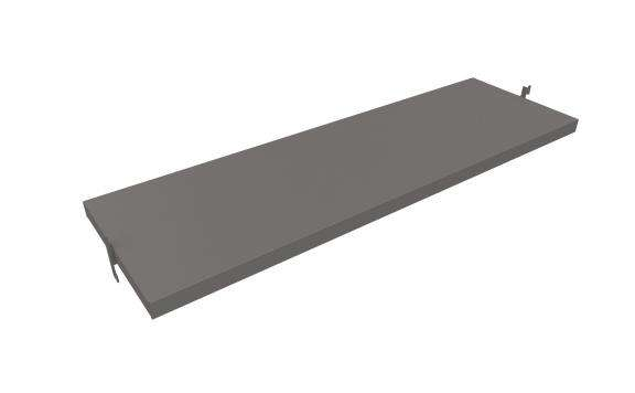 "Slash Acrobat Direct Shelf 48"" - ALU"