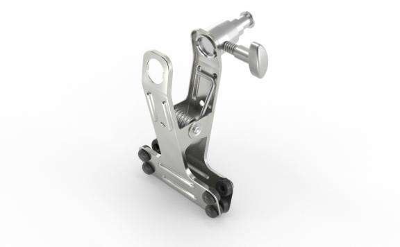 Clip Clamp with Stud - ALU