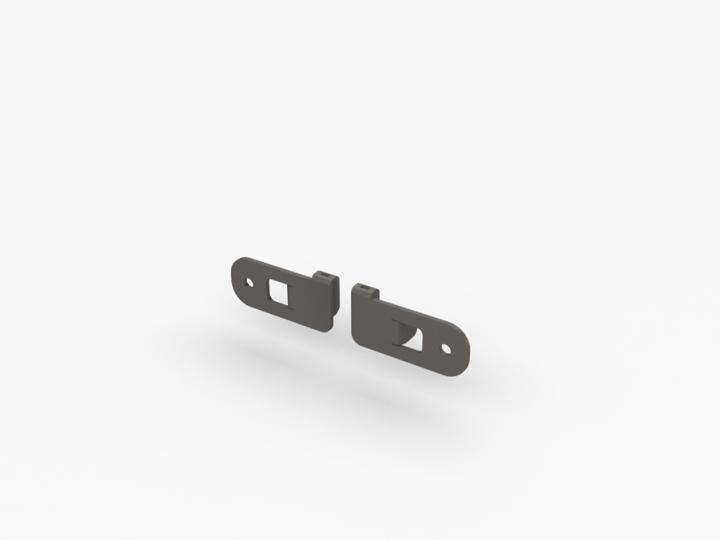 TQ Panel Holder For Left/Right (Set Of 2) - ALU