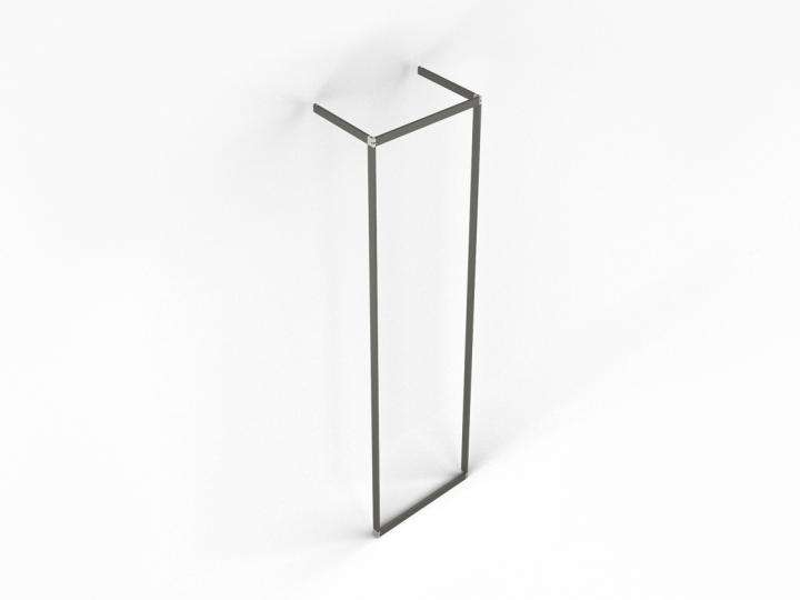 "Slash Vertical Wall Mounted Unit 24"" - ALU"
