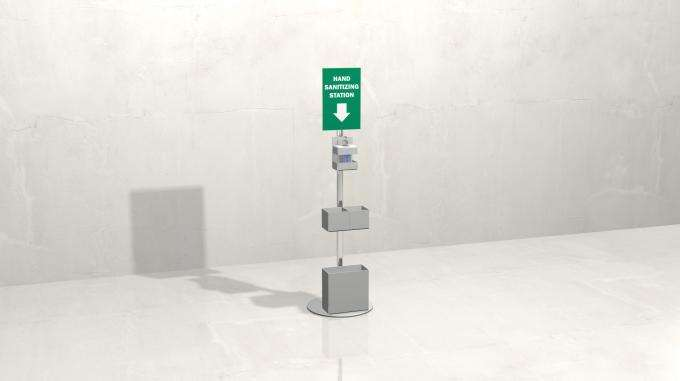 Sanitizing Stations and Social Distancing Solutions - ALU